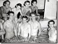 Vintage peanuts gang steamer trunk